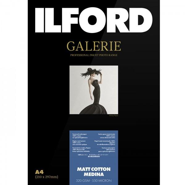 Ilford Galerie Matt Cotton Medina 320g A4 25Bl