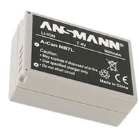 Ansmann Akku Can NB 7L, 900mAh