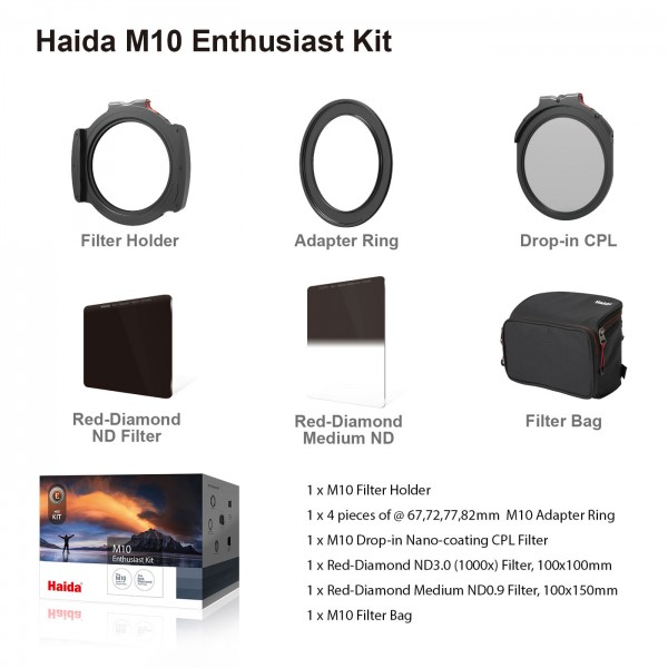 Haida M10 Enthusiast Filter-Kit