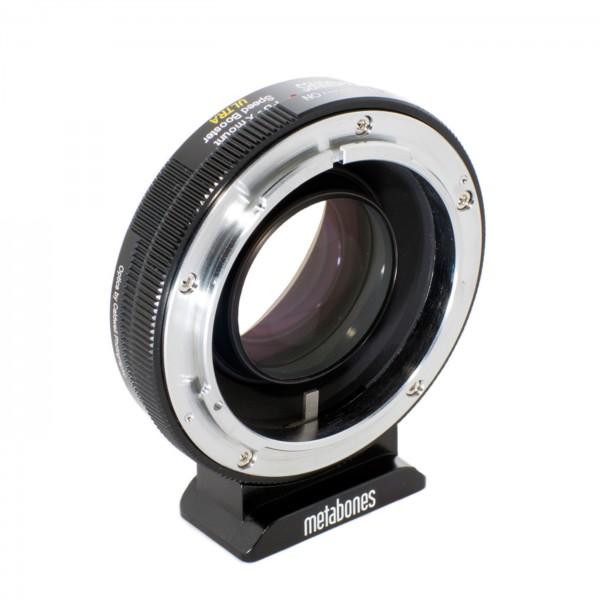 Metabones Speed Booster ULTRA Canon FD an X-Mount