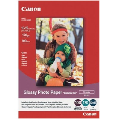 Canon Glossy Photo Paper GP-501 10x15,100 Bl.,200g