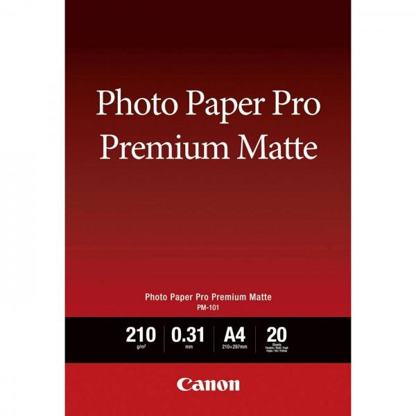 Canon PM-101 Pro Premium Matt, 210g, 20 Bl. A3+
