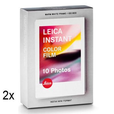 LEICA SOFORT Farbfilm 2x10 Blatt