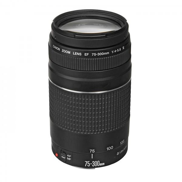 Canon Objektiv Zoom EF 4,0-5,6/75-300 III