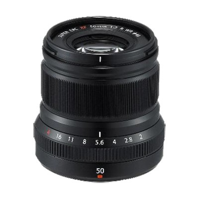 Fuji FUJINON XF 2/50mm R WR, schwarz