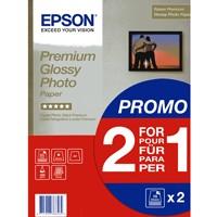 Epson Premium Glossy 255g, 2 x 15 Bl., DIN A4