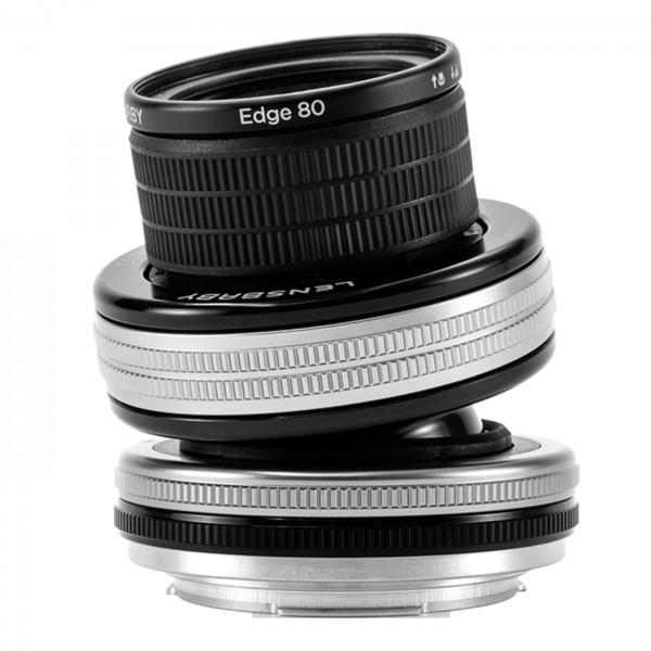 Lensbaby Composer ProII Set+Edge 80 Optik f.NikonZ