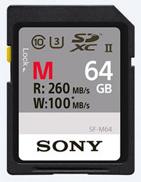 Sony SDXC SF-M Serie Class10 UHS-II U3 64GB