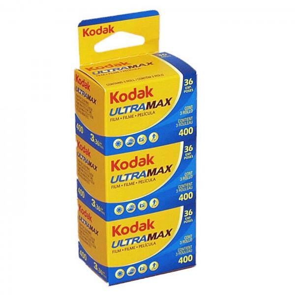 Kodak Ultra Max 400 135/36 3er Pack