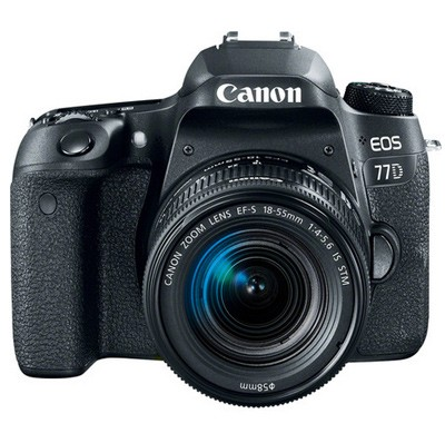 Canon EOS 77D Set + EF-S 4-5,6/18-55mm IS STM