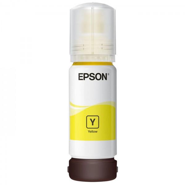 EPSON 106 EcoTank yellow, 70ml Flasche