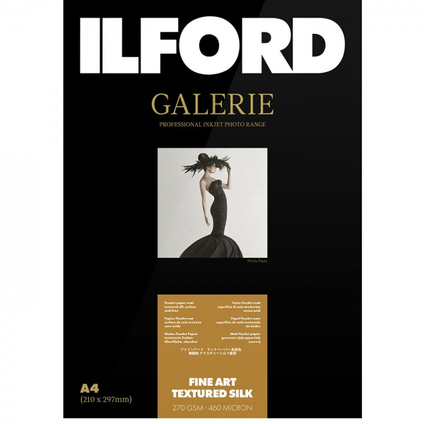 Ilford Prestige FineArt Textured Silk 270g A4 25Bl