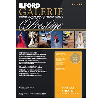 Ilford Galerie Prest.Fineart Smooth A2 25 Bl.