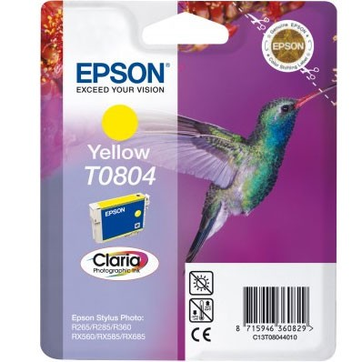Epson Tinte Claria gelb T0804