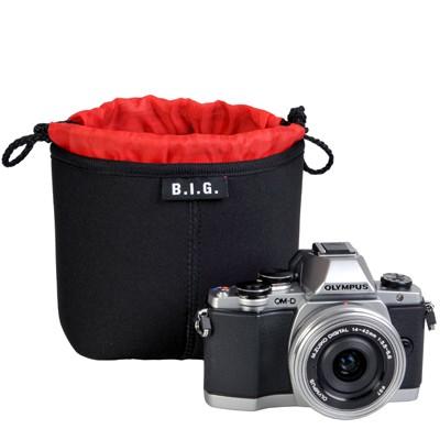B.I.G. PC12 Neopren Kamerabeutel, 12x12x7cm