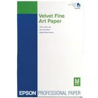 Epson Velvet Fine Art Paper 260g, 20 Bl. A3+