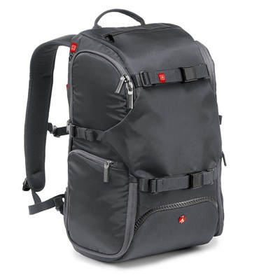 Manfrotto Advanced MB MA-BP-TRV Reiserucksack grau