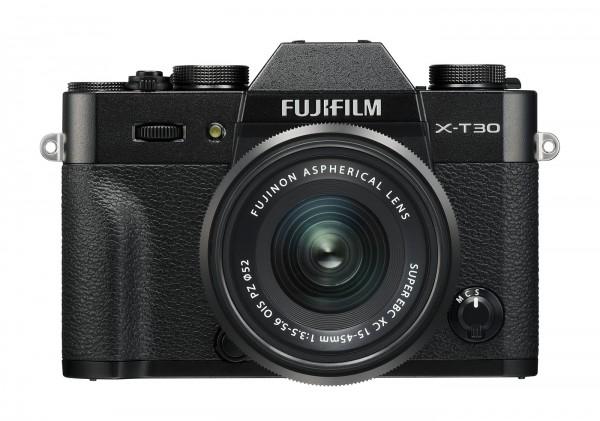 Fuji X-T30 Set + XC 15-45mm, schwarz