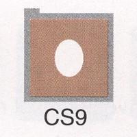 Cromatek Colorspot oval weich schoko CS9