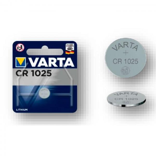 Varta Lithium Batterie CR 1025 3V