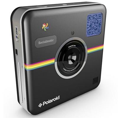 Polaroid Socialmatic Camera, schwarz