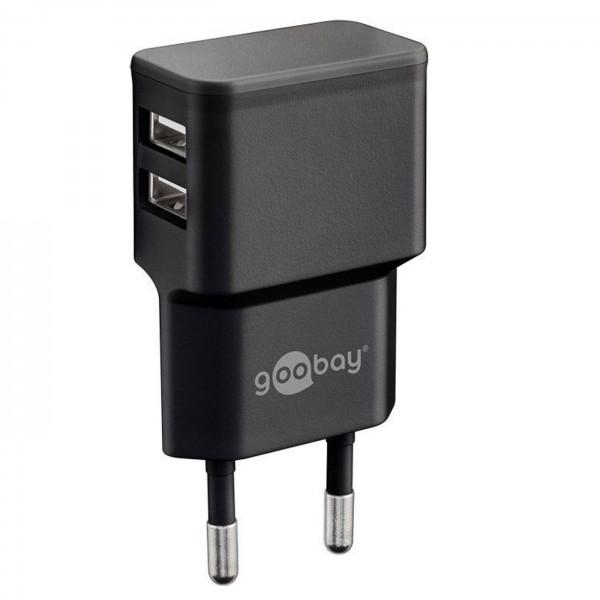 Dual USB-Ladegerät 2,4A