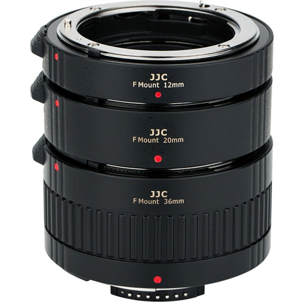 JJC Auto-Zwischenring Set Nikon F, 12+20+36mm