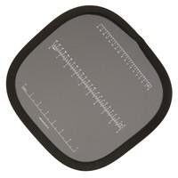 HELIOS Falt-Graukarte mit cm-Einteilung-30cm
