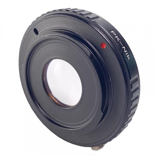 B.I.G. Objektivadapter Pentax K an Nikon