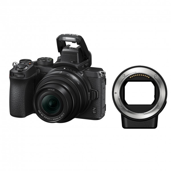 Nikon Z50 Set + 16-50mm + FTZ-Adapter