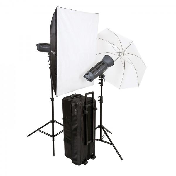 HELIOS LED-200s Performance Studioleuchte 2er-Set
