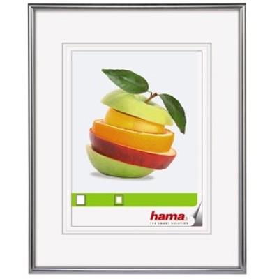 "Hama Kunststoff-Rahmen ""Sevilla"" 24x30cm, silber"