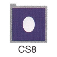 Cromatek Colorspot oval weich malve CS8
