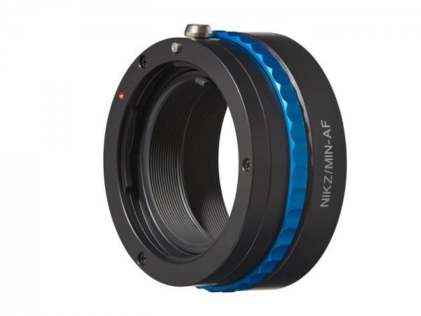 Novoflex Adapter Nikon Z für Sony/Min. Objektive