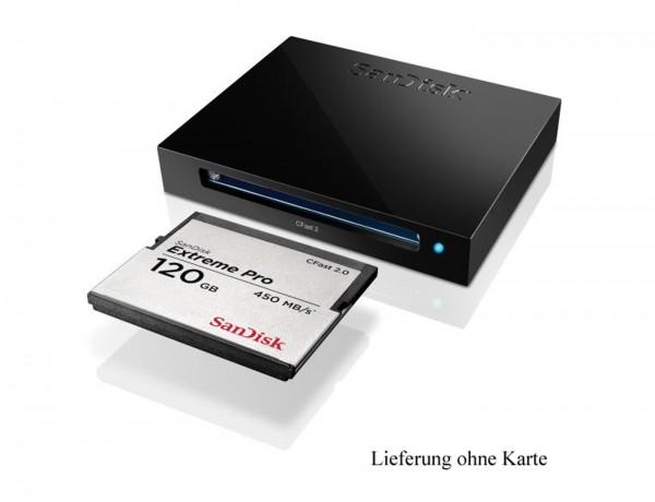 SanDisk Extreme Pro USB 3.0 CFast Cardreader