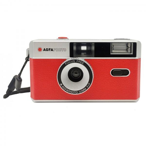 Agfa Photo Analoge 35mm Kamera, rot