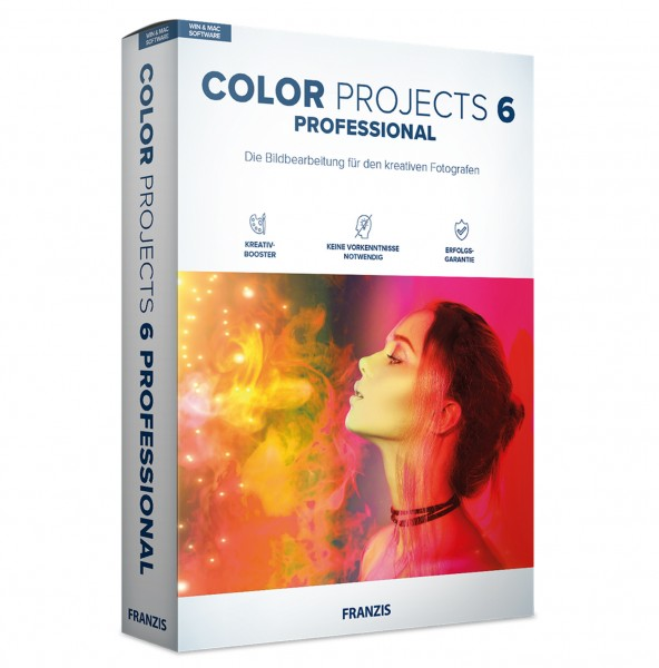 Franzis Color projects 6 professional Software