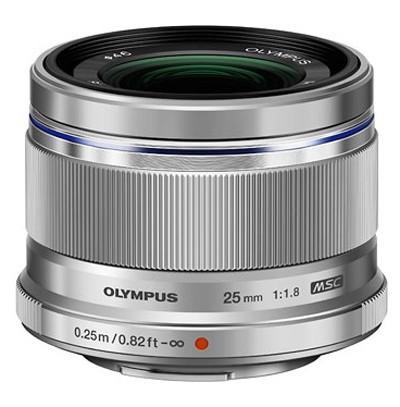 Olympus M.Zuiko Digital ED 1,8/25mm, silber
