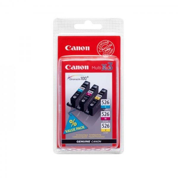 Canon Tinte CLI-526 CMY Multipack
