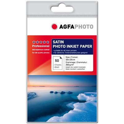 Agfa Professional Satin 260g., 50 Bl. 10x15cm