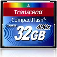 Transcend Premium CF Card 400x 32GB