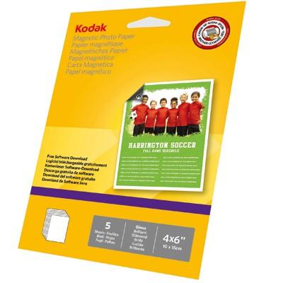 KODAK Magnet-Karten, 5 Bl. 10x15