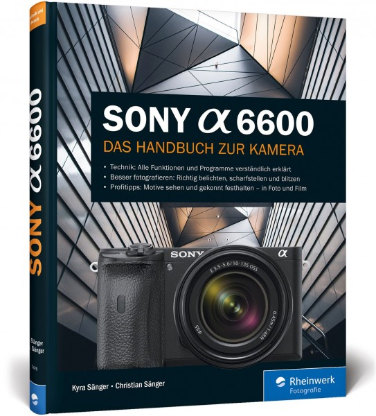 Buch: Sony alpha 6600 Das Handbuch zur Kamera