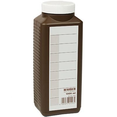 Kaiser Chemikalien-Flasche braun 1000ml