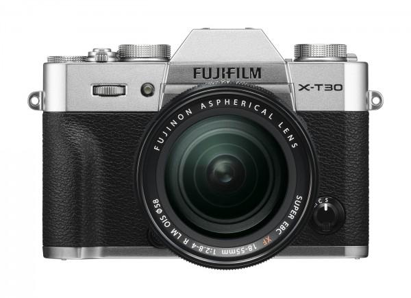 Fuji X-T30 Set + XF 18-55mm R LM OIS, silber #