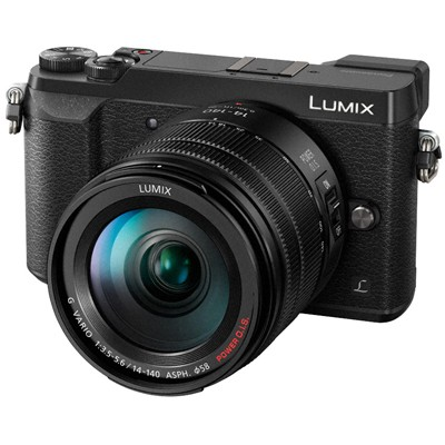 Panasonic Lumix DMC-GX80 Set + 14-140mm, schwarz