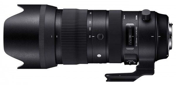 Sigma 2,8/70-200mm DG OS HSM (S) für Nikon F