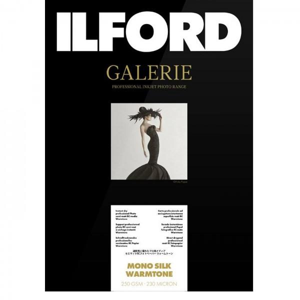 Ilford GALERIE Mono Silk Warmtone A4 25 Bl. 250g
