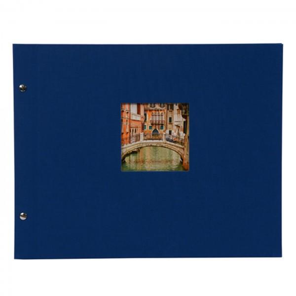 Goldbuch Bella Vista Schraubalbum 39x31, blau