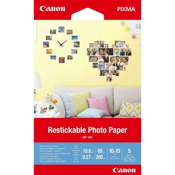 Canon RP-101 Fotopapier wiederaufkleb. 10x15 5 Bl.